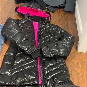Spyder girls long ski jacket. Worn ONCE!